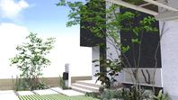 和歌山市M様邸 自然の景色を取り入れた外構工事