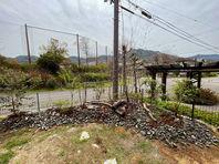 阪南市K様邸の部分的にお庭造り